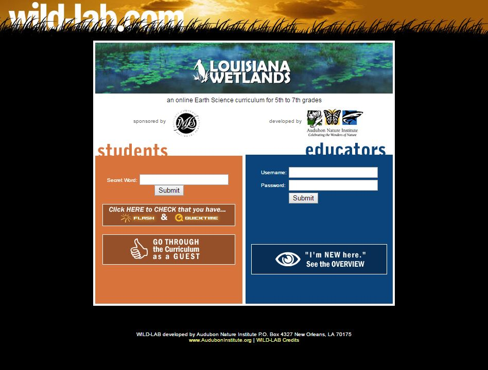 Audubon nature institute nolaflash web design and hosting 1 fandeluxe Images